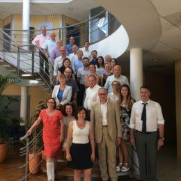 Réunion Stratégie PME avec les consultants et intervenants du programme